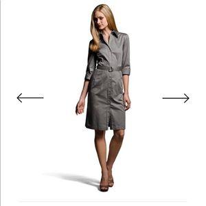 Hugo Boss khaki dashina dress